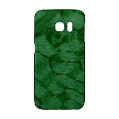 Woven Skin Green Galaxy S6 Edge