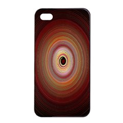Colour Twirl Apple iPhone 4/4s Seamless Case (Black)