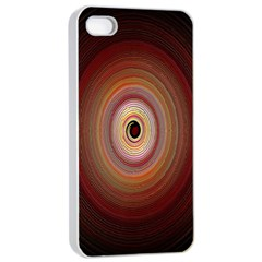 Colour Twirl Apple iPhone 4/4s Seamless Case (White)