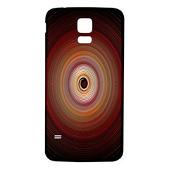 Colour Twirl Samsung Galaxy S5 Back Case (white)