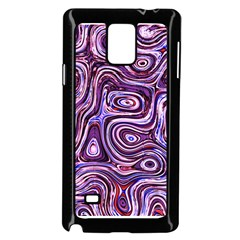 Colour tile Samsung Galaxy Note 4 Case (Black)