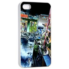 Colour Street Top Apple iPhone 4/4s Seamless Case (White)
