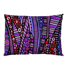Stained glass tribal pattern Pillow Cases