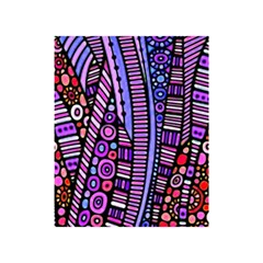 Stained glass tribal pattern Shower Curtain 48  x 72  (Small)