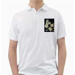 Bright Lilies Golf Shirts