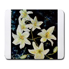 Bright Lilies Large Mousepads