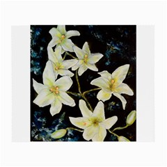 Bright Lilies Small Glasses Cloth