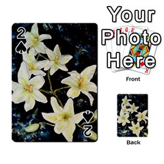 Bright Lilies Playing Cards 54 Designs