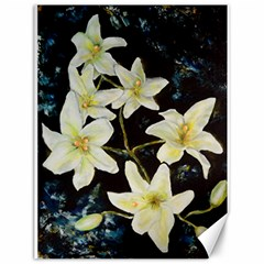 Bright Lilies Canvas 12  X 16