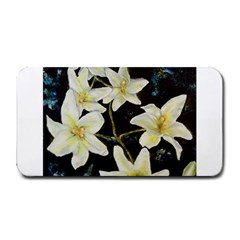 Bright Lilies Medium Bar Mats
