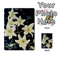 Bright Lilies Multi Purpose Cards (rectangle)