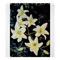 Bright Lilies Shower Curtain 66  X 72  (large)
