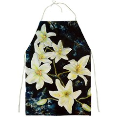 Bright Lilies Full Print Aprons