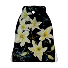Bright Lilies Bell Ornament (2 Sides)