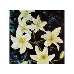 Bright Lilies Birthday Cake 3D Greeting Card (7x5)