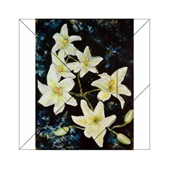 Bright Lilies Acrylic Tangram Puzzle (6  X 6 )