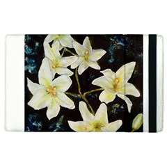 Bright Lilies Apple Ipad 3/4 Flip Case