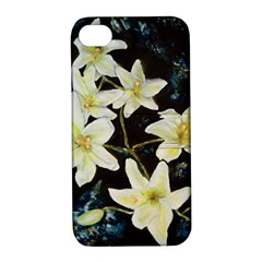 Bright Lilies Apple Iphone 4/4s Hardshell Case With Stand