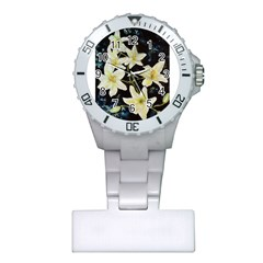 Bright Lilies Nurses Watches