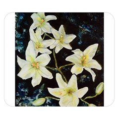Bright Lilies Double Sided Flano Blanket (Small)