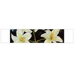 Bright Lilies Flano Scarf (Large)