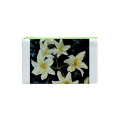 Bright Lilies Cosmetic Bag (XS)
