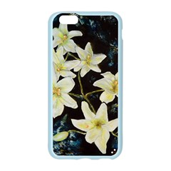 Bright Lilies Apple Seamless iPhone 6 Case (Color)