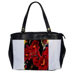 Red Orchids Office Handbags