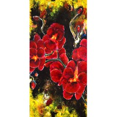 REd Orchids 5.5  x 8.5  Notebooks