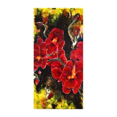 REd Orchids Shower Curtain 48  x 72  (Small)