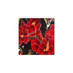Red Orchids You Are Invited 3d Greeting Card (8x4)