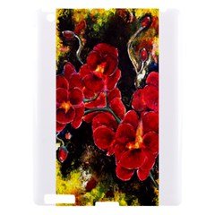 Red Orchids Apple Ipad 3/4 Hardshell Case