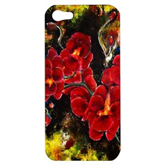 Red Orchids Apple Iphone 5 Hardshell Case