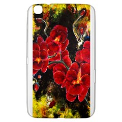 Red Orchids Samsung Galaxy Tab 3 (8 ) T3100 Hardshell Case
