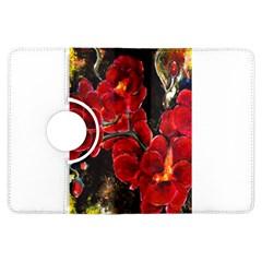 Red Orchids Kindle Fire Hdx Flip 360 Case