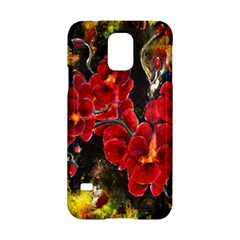 REd Orchids Samsung Galaxy S5 Hardshell Case