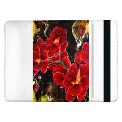 Red Orchids Samsung Galaxy Tab Pro 12 2  Flip Case