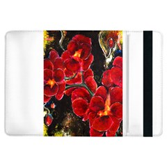 Red Orchids Ipad Air Flip