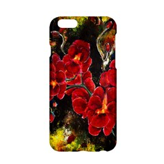 Red Orchids Apple Iphone 6 Hardshell Case