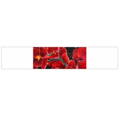 REd Orchids Flano Scarf (Large)