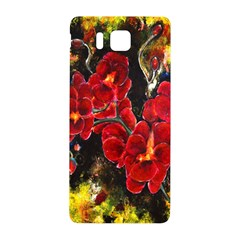 REd Orchids Samsung Galaxy Alpha Hardshell Back Case