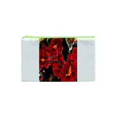 Red Orchids Cosmetic Bag (xs)