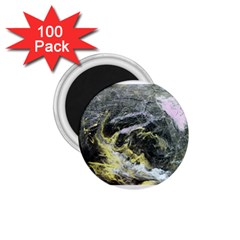 Black Ice 1 75  Magnets (100 Pack)
