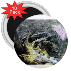 Black Ice 3  Magnets (10 Pack)