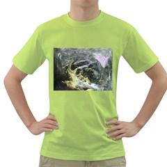 Black Ice Green T Shirt