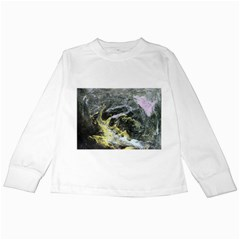 Black Ice Kids Long Sleeve T-Shirts
