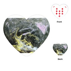 Black Ice Playing Cards (Heart)