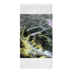 Black Ice Shower Curtain 36  x 72  (Stall)