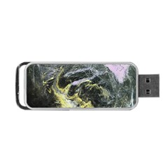 Black Ice Portable Usb Flash (two Sides)