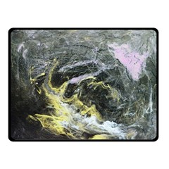Black Ice Double Sided Fleece Blanket (small)